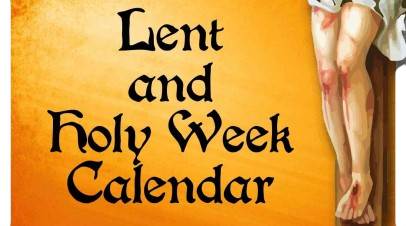Lent and Holy Week Calendar